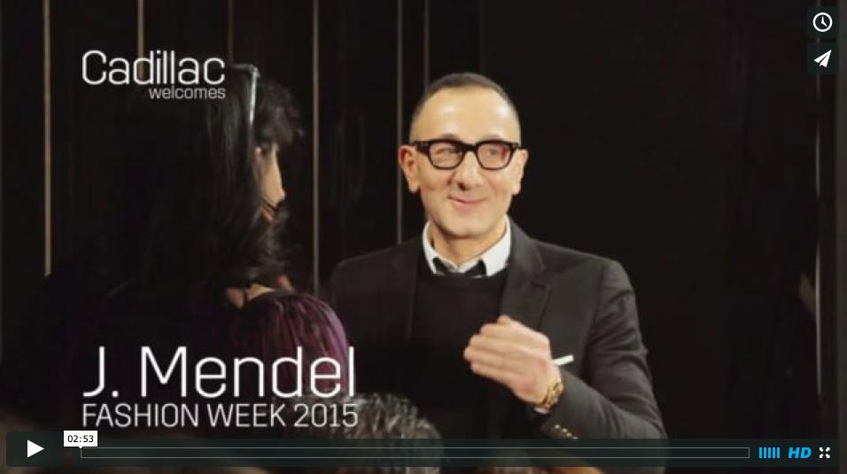 J. Mendel :: NY Fashion Week presented by Cadillac