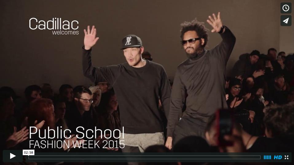 Public School NY :: NY Fashion Week presented by Cadillac
