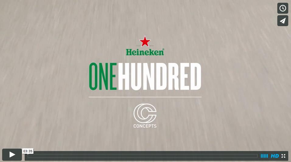 #Heineken100 :: Deon Point, CONCEPTS