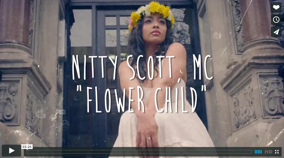 Nitty Scott M.C. feat. Kendrick Lamar // Flower Child