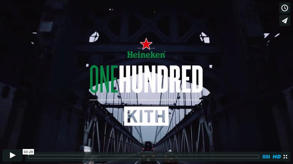 #Heineken100 :: Ronnie Fieg, KITH NYC
