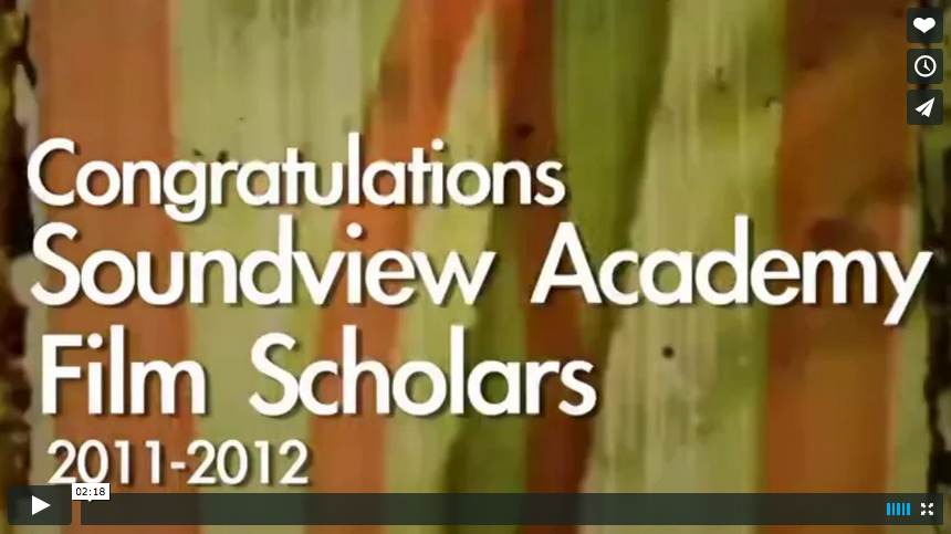 Soundview Academy Film Program – Behind the Scenes