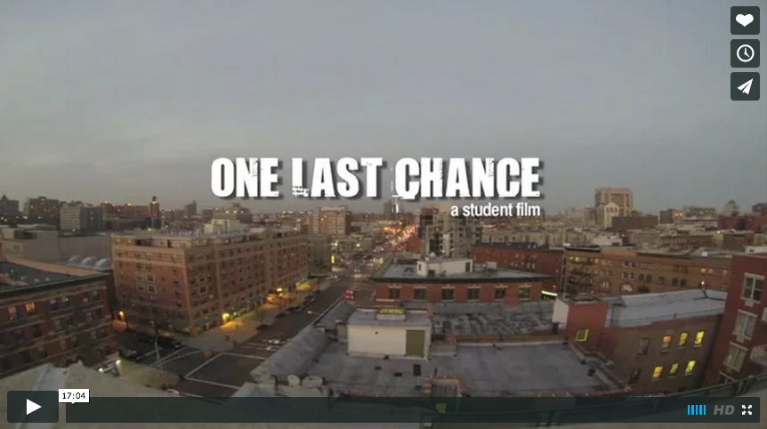 ONE LAST CHANCE – a student film by Vaughan Thorpe