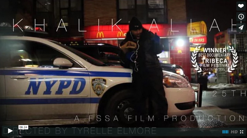 Khalik Allah: 125TH [short doc] – Dir. Tyrelle Elmore