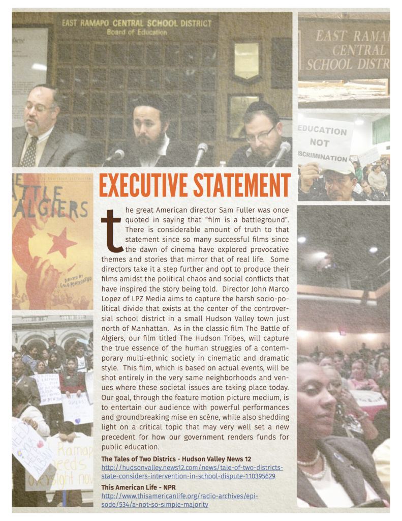 Executive Statement - THT